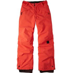 O'Neill Anvil Pantaloni Ragazzo, rosso